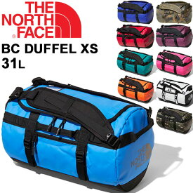 ボストンバッグ ダッフルバッグ メンズ レディース ノースフェイス THE NORTH FACE ベースキャンプ BCダッフルXS 31L/アウトドア かばん 旅行 トラベル 出張 男女兼用 鞄 かばん/NM81816-