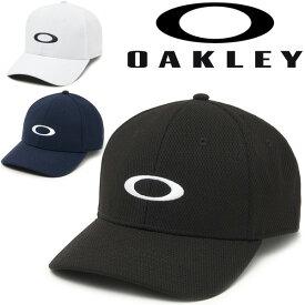 キャップ 帽子 メンズ オークリー OAKLEY Golf Ellipse Hat/スポーツキャップ ゴルフ トレーニング 男性 ロゴ シンプル ぼうし/91809