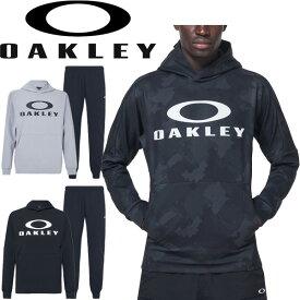 トレーニングウェア 上下セット メンズ オークリー OAKLEY Enhance モビリティ フリース パーカー パンツ 上下組/スポーツウェア 男性 セットアップ 吸汗速乾 ジム カジュアル 普段使い/FOA400151-FOA400821