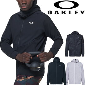 ジャージ ジャケット メンズ オークリー OAKLEY Enhance Mobility Fleece Jacket/スポーツウェア トレーニング 吸汗速乾 フルジップ スエット 上着/FOA400152