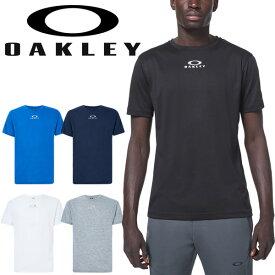 半袖 Tシャツ メンズ オークリー OAKLEY スポーツウェア Enhance QD Short Sleeve Tee Bold 10.0/クルーネック 吸汗速乾 ドライ トレーニング トップス/FOA400157