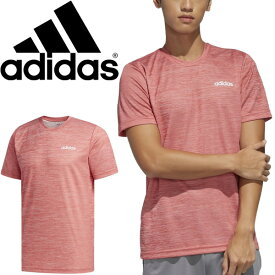 半袖 Tシャツ メンズ アディダス adidas M D2M CA HE TEE/スポーツウェア ランニング トレーニング 男性 クルーネック 吸汗 シンプル トップス/GVD27-FL0328