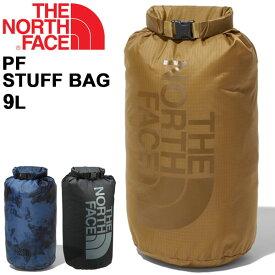 スタッフバッグ メンズ レディース ノースフェイス THE NORTH FACE ナイロンバッグ 9L/ロール式 アウトドア スポーツ ジム 旅行 シューズ ランドリー 小物 収納 ロゴ 鞄/NM61726
