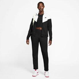 ジャージ 上下セット レディース ナイキ NIKE ポケットトラックスーツ/スポーツウェア ジャケット ロングパンツ 上下組 自宅トレーニング ジム フィットネス 女性 セットアップ/BV4959-010