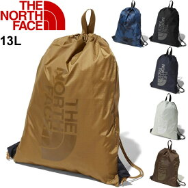 ナップサック ジムサック ノースフェイス THE NORTH FACE ナイロンバッグ 13L リュックサック 巾着 スポー ジム カジュアル 旅行 かばん メンズ レディース ロゴ 鞄/NM61724