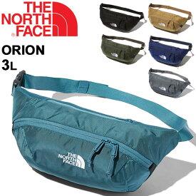 ウエストバッグ メンズ レディース ノースフェイス THE NORTH FACE オリオン ORION 3L/ウエストポーチ ヒップバッグ ポーチ アウトドア トレッキング カジュアル 旅行 男女兼用 鞄 かばん/NM71902