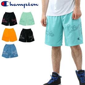 ハーフパンツ バスケットボール パンツ メンズ チャンピオン Champion E-MOTION プラクティスパンツ/スポーツウェア 男性 バスパン 練習着 部活 クラブ トレーニング ボトムス/C3-MB520