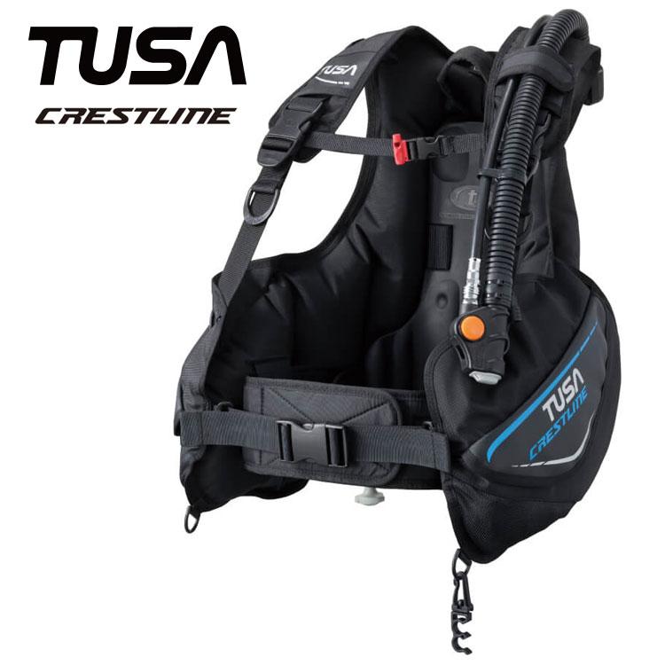 ダイビング BC TUSA/ツサ BC0601B クレストライン ダイビング用 BCJ