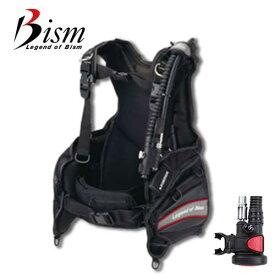 ダイビング BCD 重器材 Bism ビーイズム AIR BC エアーBC + OCT2 ブラックホース モデル