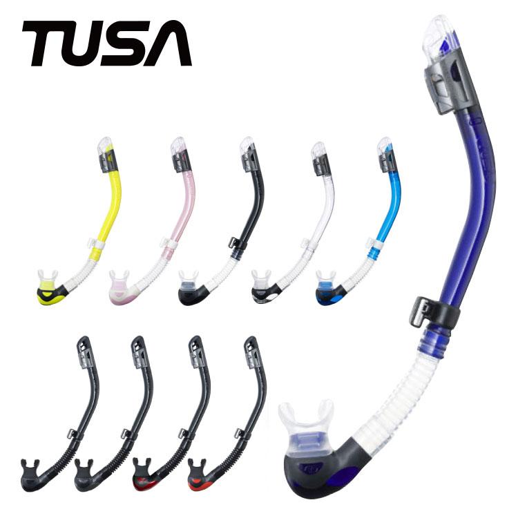 ダイビング用スノーケル TUSA/ツサ ハイパードライMAX ドライスノーケル SP-200 シュノーケル スノーケリング|マリンスポーツ シュノーケリング スキンダイビング ドライシュノーケル スノーケル