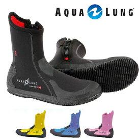 ダイビングブーツ AQUALUNG アクアラング エルゴブーツ ファスナー付き 5mm ダイビング ブーツ 22 23 24 25 26 27 28 29 cm 対応