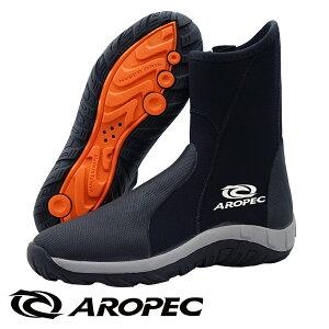 ダイビングブーツ 厚底 5mm ウェットスーツ ダイビング 釣り ブーツ マリンブーツ スキューバダイビング シュノーケリング フィン AROPEC アロペック メンズ レディース ユニセックス