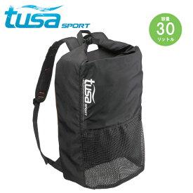メッシュ バックパック tusa sport/ツサスポーツ UA0302 シュノーケル 軽器材用 バックパック