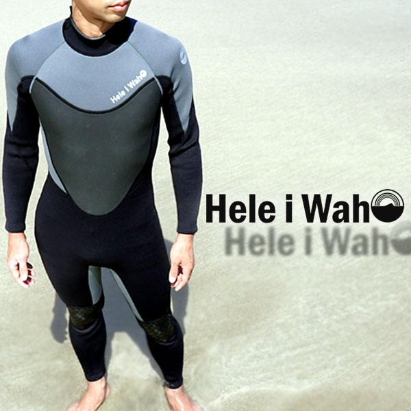 ウェットスーツ 3mm メンズ ウエットスーツ HeleiWaho|スーツ ウェット フルスーツ サーフィン ダイビング ヘレイワホ フル シュノーケリング スノーケリング シュノーケル スノーケル おしゃれ スキンダイビング ダイバー マリンスポーツ 大きいサイズ 薄手 ウエット