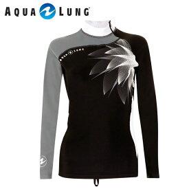 ラッシュガード AQUALUNG/アクアラング アクアラング オリジナル 長袖 レディース|シュノーケル ダイビング サーフィン シュノーケリング ラッシュ ガード スノーケル スキューバダイビング 海 スノーケリング マリンスポーツ おしゃれ