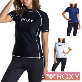 ROXY ロキシー ラッシュガード レディース 半袖 水着 RASHIE S/S RLY205025