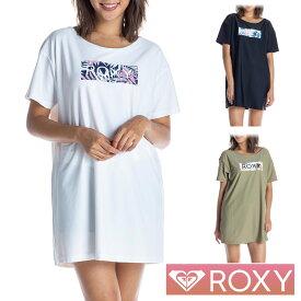 ROXY ロキシー ラッシュガード レディース 半袖 Tシャツ ロング ワンピース LEAF WAVE ROXY TEE RLY202013