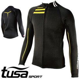 ウエットスーツ ジャケット tusa SPORT/ツサスポーツ ウェットスーツ ジャケット メンズ UA5121  タッパー 袖 ジェットスキー ウエット スーツ サーフィン シュノーケリング ダイビング スキューバダイビング スキンダイビング スノーケリング ダイビングスーツ シュノーケル