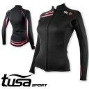 ウエットスーツ ジャケット tusa SPORT/ツサスポーツ ウェットスーツ ジャケット レディース UA5122