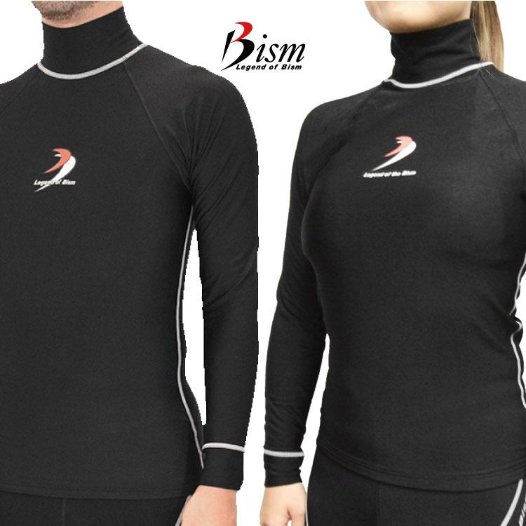 Bism/ビーイズム ウェットスーツ インナーラッシュガードホットカプセル TI2ロングタッパー[60314001]|ラッシュガード サーフィン インナー ウェットスーツ ウエットスーツ ダイビング 防寒 レディース メンズ ウェットスーツインナー 防寒インナー アンダーウェア 長袖