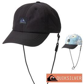 QUIKSILVER クイックシルバー サーフキャップ メンズ サーフィン ダイビング シュノーケリング 帽子 キャップ UV WATER CAMP 6 PANELS QSA201754