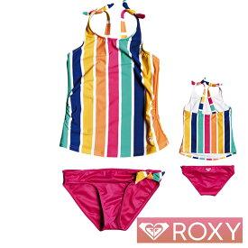 ROXY ロキシー キッズ 水着 女の子 セパレート 子供水着 2点セット 子供 MAUI SHADE TANKINI SET ERLX203102