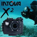 デジタルビデオカメラ INTOVA イントバ X2 MARINE GREDE ACTON CAM 防水 アクションカム 水中カメラ デジカメ アクションカメラ