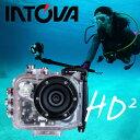 デジタルビデオカメラ INTOVA イントバ HD2 MARINE GREDE ACTON CAM 防水 アクションカム 水中カメラ デジカメ アクションカメラ...