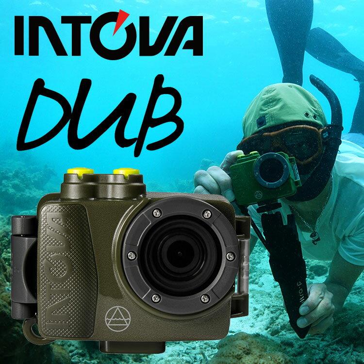 デジタルビデオカメラ INTOVA イントバ DUB SPORT ACTON CAM 防水 アクションカム 水中カメラ デジカメ アクションカメラ|防水カメラ 水中 シュノーケル ダイビング スキューバダイビング シュノーケリング マリンスポーツ サーフィン デジタルカメラ ムービーカメラ