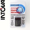 チャージャー intova/イントバ I-USB-CH ユニバーサルUSBチャージャー/ ACアダプター