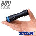 水中ライト ダイビング LED ダイビングライト 防水 コンパクト ハンディライト 充電式 スポット バッテリー 充電 XTAR…
