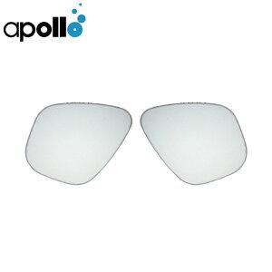 交換 レンズ apollo アポロ バイオポラライズドレンズ 偏光レンズ UVカット バイオメタルマスクシリーズ ダイビング スキューバ スキューバダイビング スクーバ スクーバダイビング 左右セ