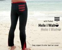 ウェットスーツ2mmロングパンツメンズHeleiWaho/ヘレイワホクラシックなカラーとポケットが魅力!タッパーやジャケットとの合わせてで楽しめるウエットスーツロングパンツ[60285029]