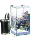 【GEX】グラステリアキューブ 300H 6点セット(30×30×55H)ハイタイプの水槽+メガパワーのセット商品