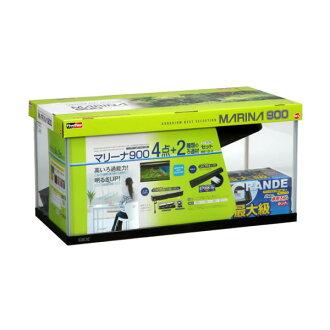 "4+2 point of GEX marina 900cm water tank set 90cm water tank set MARINA 90cm water tank set ""glass water tank set"""