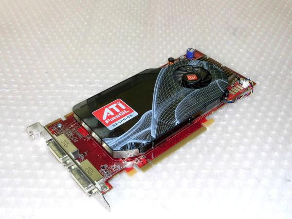 ATI FirerGL V5600 512MB PCI-E (HP 456207-001) 【中古】