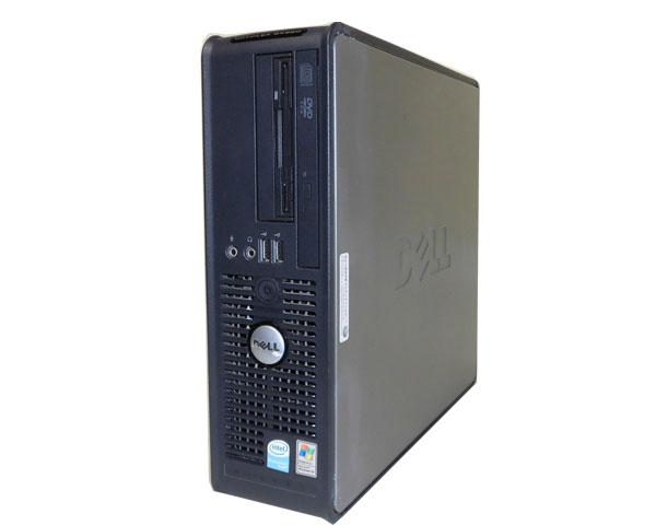 送料無料 DELL OPTIPLEX GX620 SFF【中古】PentiumD-2.8GHz/2GB/80GB/DVDコンボ