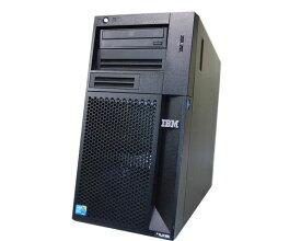 IBM System x3100 M4 2582-PBD 中古サーバー Xeon E3-1220 V2 3.1GHz 4GB 300GB×1 (SAS 2.5インチ) DVD-ROM ServeRAID M5015