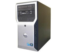 Windows10 Pro 32bit DELL PRECISION T1600 中古ワークステーション Xeon E3-1245 3.3GHz 4GB 250GB Quadro600