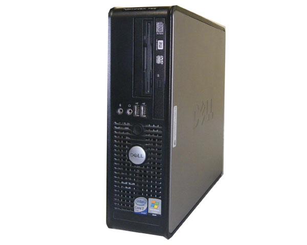 WindowsXP リカバリー付き 中古パソコンDELL OPTIPLEX 755 SFF 【中古】Core2Duo E6550 2.33GHz/1GB/80GB/マルチ