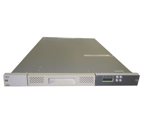 NEC N8160-83 SAS 1Uラックマウント LTO4 テープドライブ【中古】