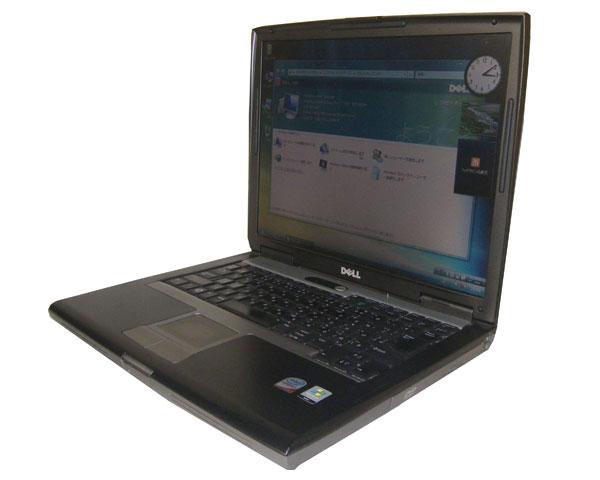中古パソコン ノート Vista DELL Latitude D530Core2Duo T7250 2.0GHz/1GB/80GB/CD-ROM15インチ/無線LAN/中古ノートパソコン