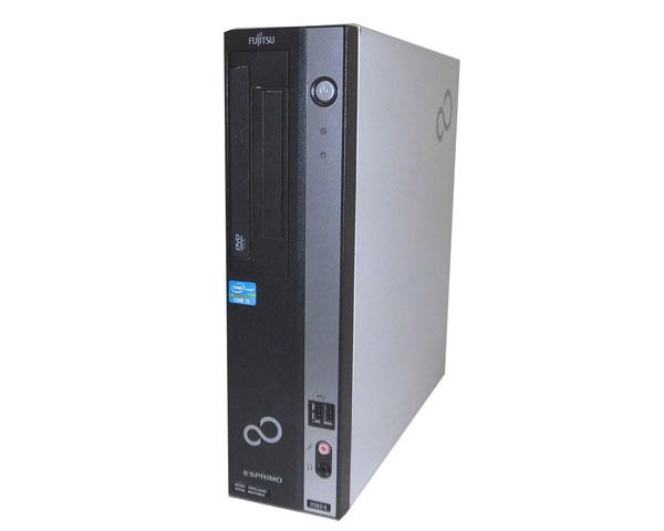 中古パソコン デスクトップ Windows7 富士通 ESPRIMO D582/E (FMVDJ3A0E1) Core i5-3470 3.2GHz 2GB 250GB DVD-ROM 省スペース 本体のみ