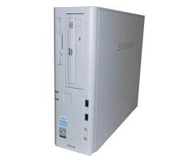 中古パソコン デスクトップ ビジネスPC 本体のみ Vista EPSON Endeavor AT970 PDC E2200 2.2GHz 2GB 80GB DVDコンボ