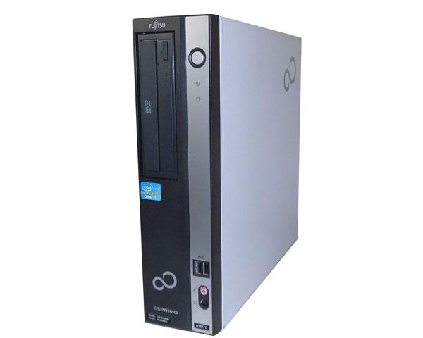 中古パソコン デスクトップ 本体のみ Windows7 富士通 ESPRIMO D581/D(FMVDH3A0E1) Core i5 2400 3.1GHz 4GB 250GB DVD-ROM