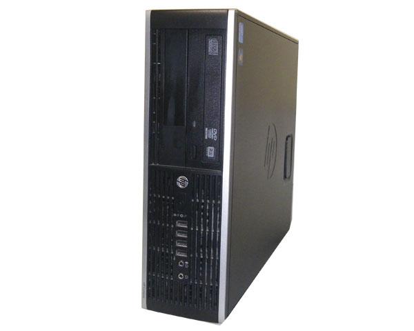 中古パソコン デスクトップ Windows7-64bit HP Compaq Elite 8300 SFF (QV996AV) Core i7-3770 3.4GHz 8GB 250GB DVDマルチ 本体のみ 中古デスクトップPC