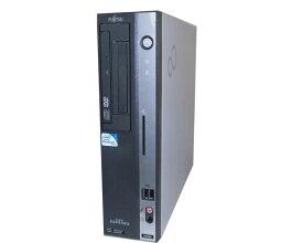 中古パソコン デスクトップ Vista 富士通 FMV-D5280 (FMVDC2A0C1) PDC-E5200 2.5GHz/2GB/80GB/DVDコンボ