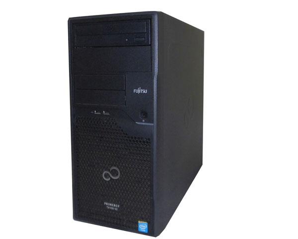 富士通 PRIMERGY TX100 S3 PYT10PT3S【中古】Celeron -G1610 2.6GHz/2GB/2TB×2