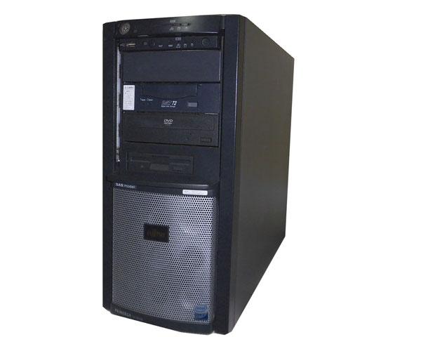 富士通 PRIMERGY TX150 S6 PGT15647S【中古】Core2Duo E4600 2.4GHz/1GB/73GB×2