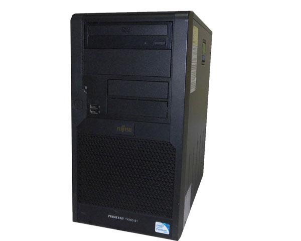 富士通 PRIMERGY TX100 S1 PGT1016BA【中古】PDC-E5400 2.7GHz/1GB/160GB×1